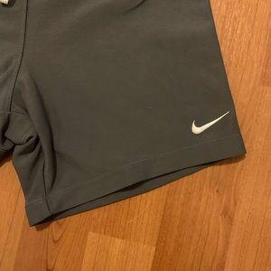 Nike Shorts - Nike Dri-fit sz small. Color Navy/orange